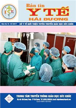 Bản tin y tế số 4 năm 2017